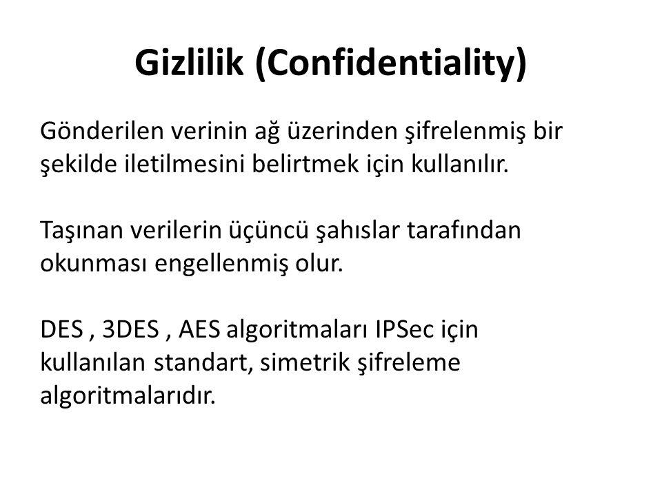 Gizlilik (Confidentiality)