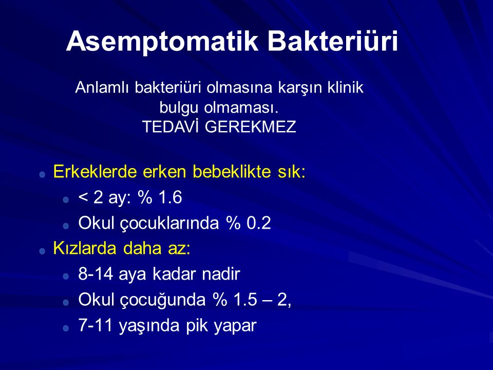 Asemptomatik Bakteriüri