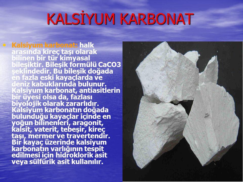 KALSİYUM KARBONAT