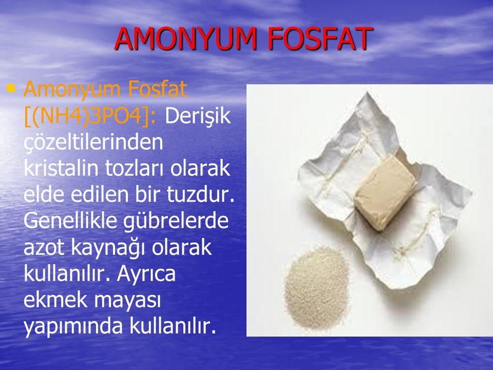 AMONYUM FOSFAT