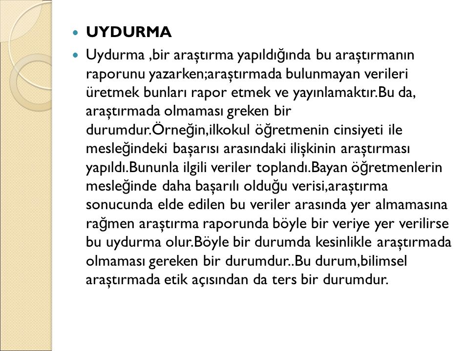 UYDURMA
