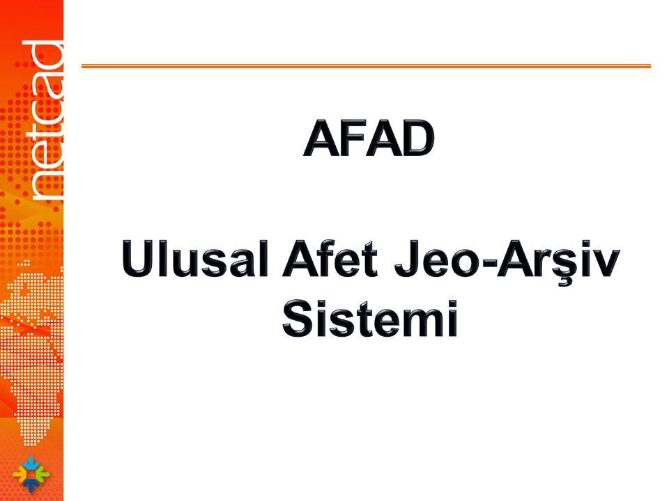 Ulusal Afet Jeo-Arşiv Sistemi