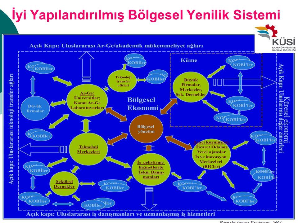 İyi Yapılandırılmış Bölgesel Yenilik Sistemi