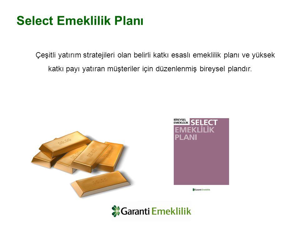 Select Emeklilik Planı