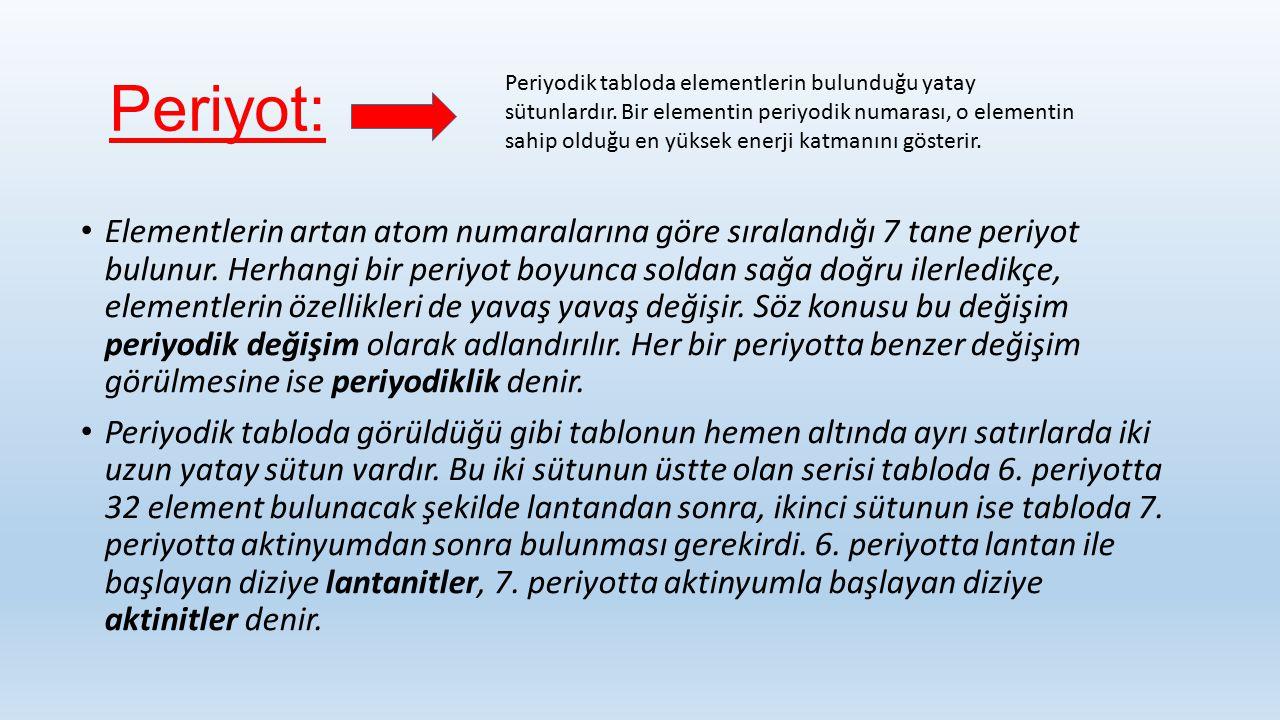 Periyot: