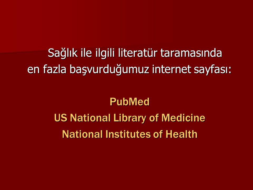 Sağlık ile ilgili literatür taramasında
