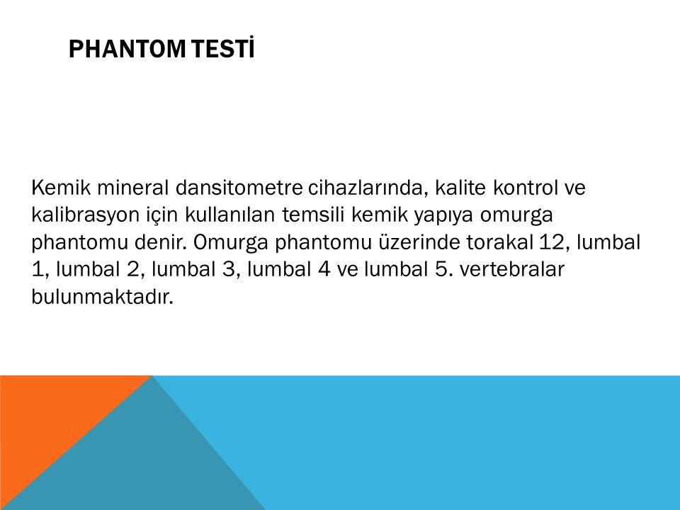 PHANTOM TESTİ