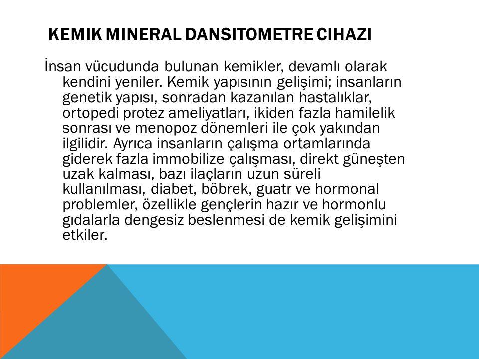 KEMiK MiNERAL DANSiTOMETRE CiHAZI