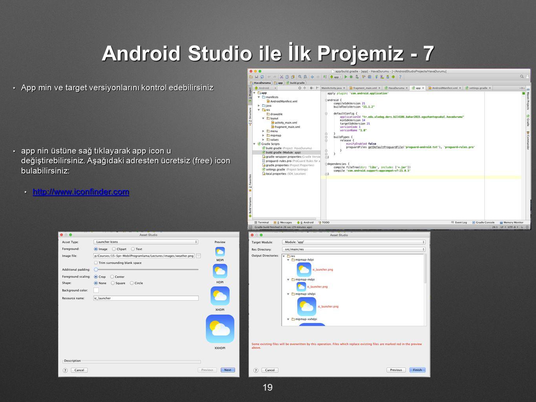Android Studio ile İlk Projemiz - 7