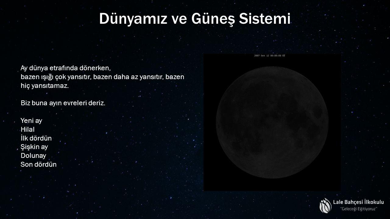 Dünyamız ve Güneş Sistemi