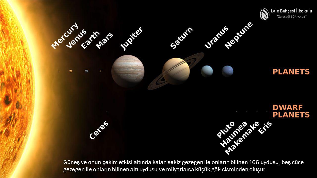 Güneş sisteminde kaç gezegen vardır