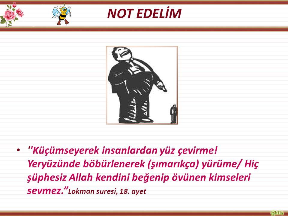 NOT EDELİM
