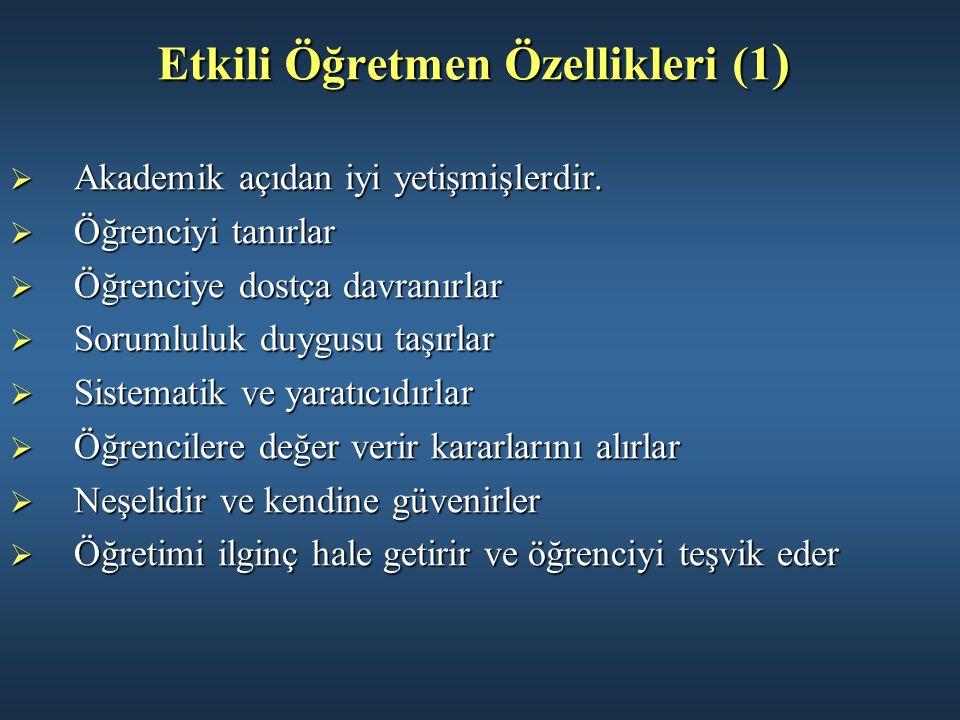 Etkili Öğretmen Özellikleri (1)