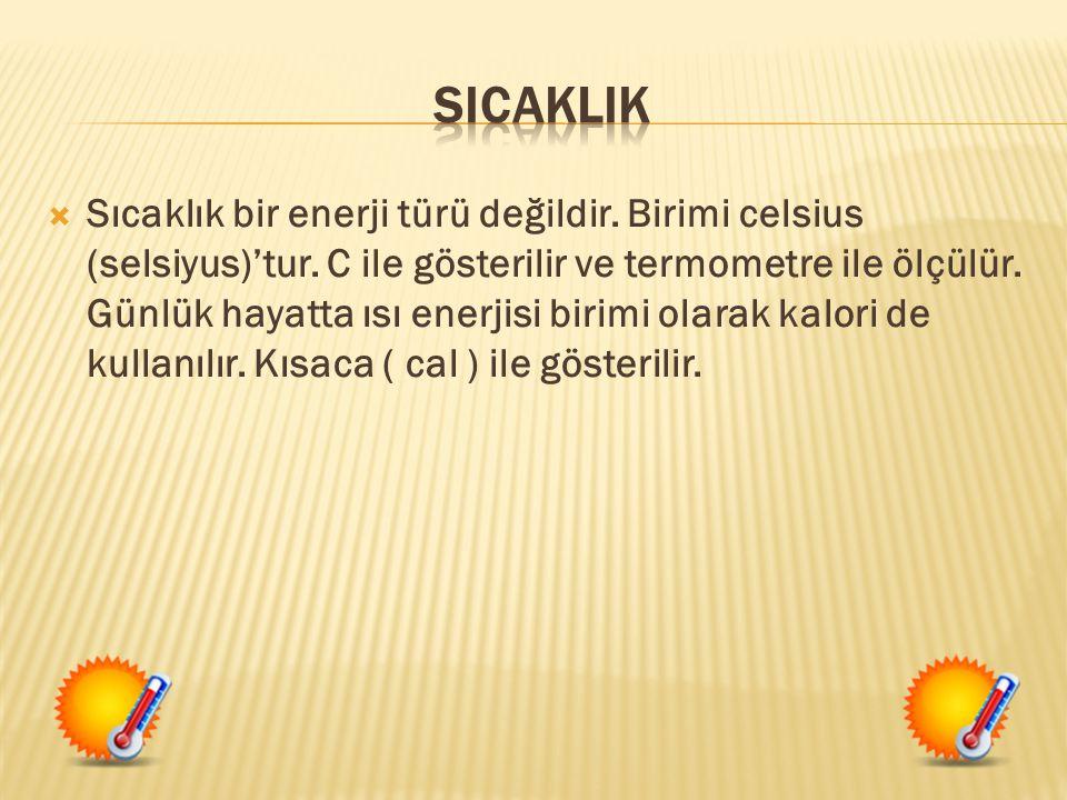 SICAKLIK