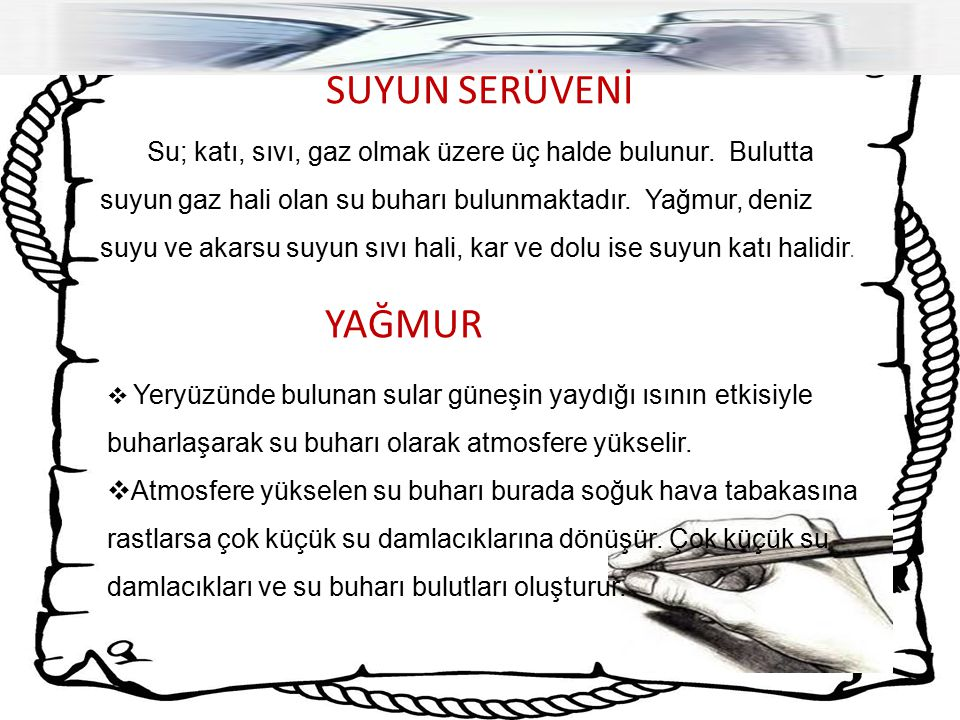 SUYUN SERÜVENİ