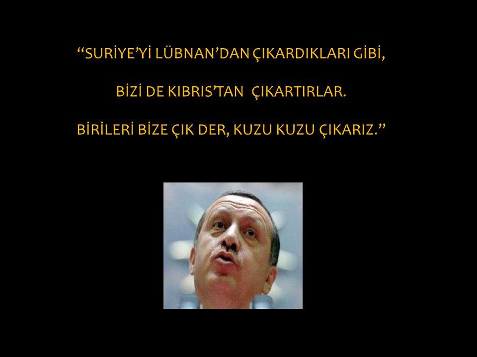 SURİYE'Yİ LÜBNAN'DAN ÇIKARDIKLARI GİBİ,