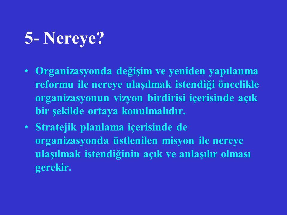 5- Nereye