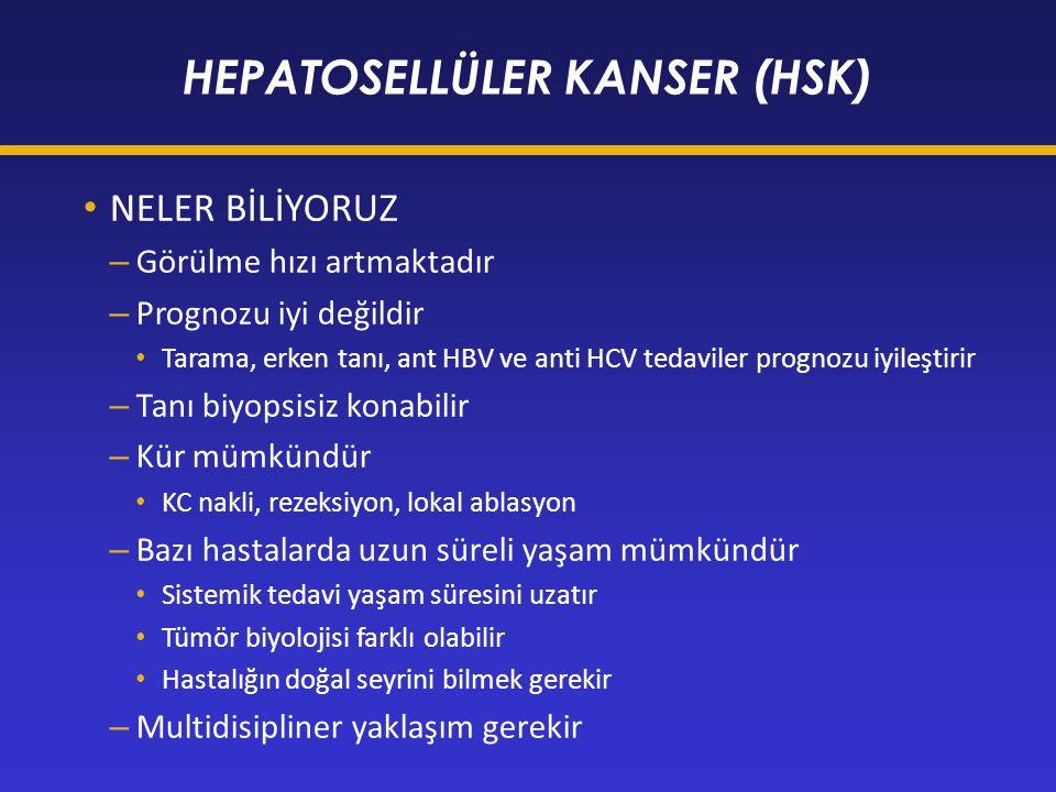 HEPATOSELLÜLER KANSER (HSK)