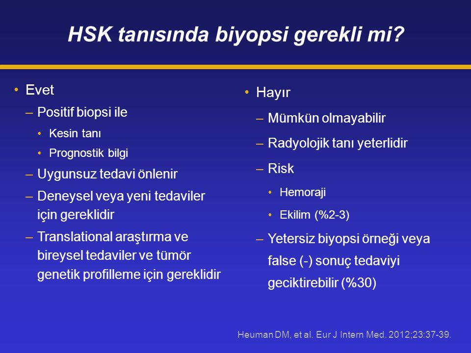HSK tanısında biyopsi gerekli mi