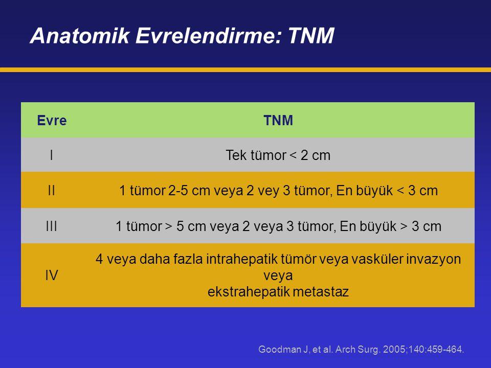 Anatomik Evrelendirme: TNM