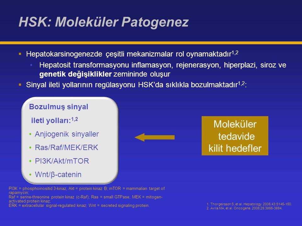 HSK: Moleküler Patogenez