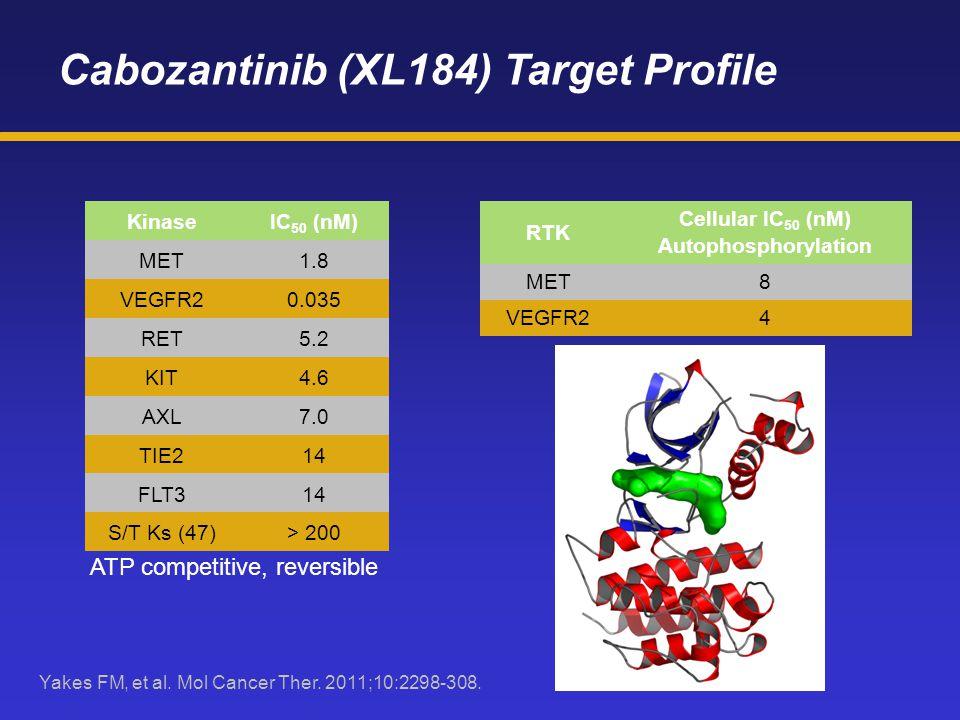 Cabozantinib (XL184) Target Profile
