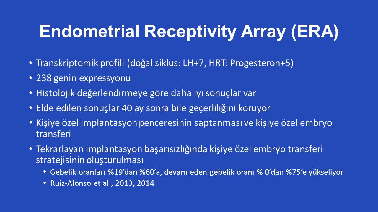 Endometrial Receptivity Array (ERA)