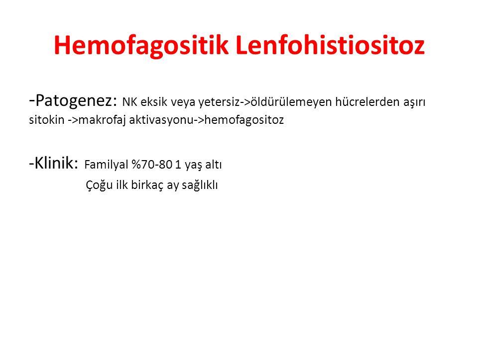 Hemofagositik Lenfohistiositoz