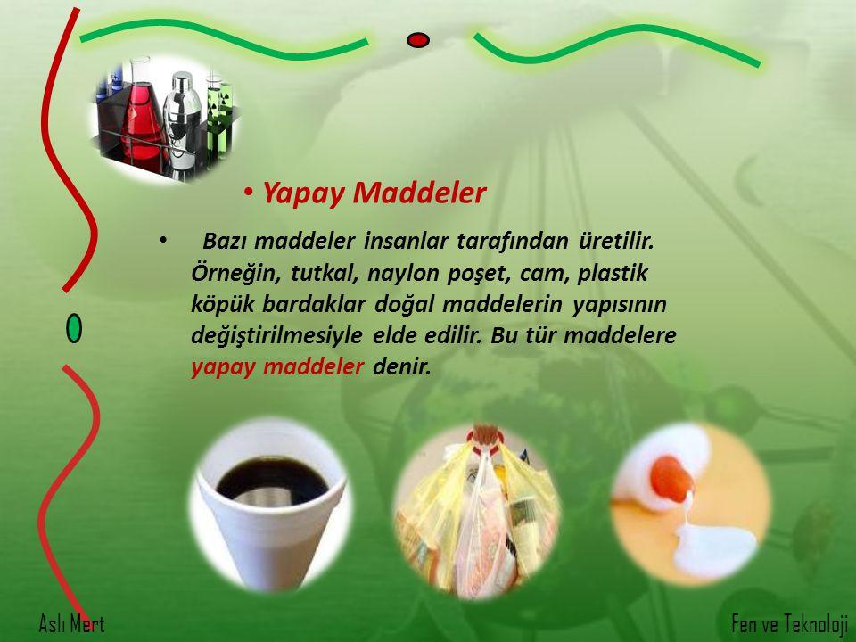 Yapay Maddeler