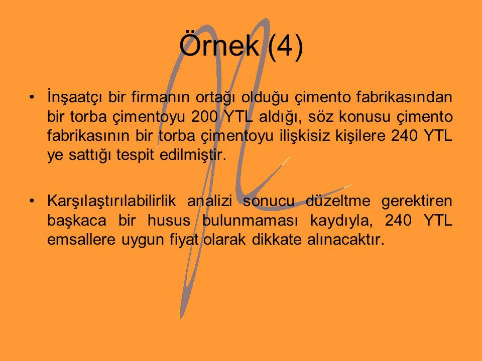 Örnek (4)