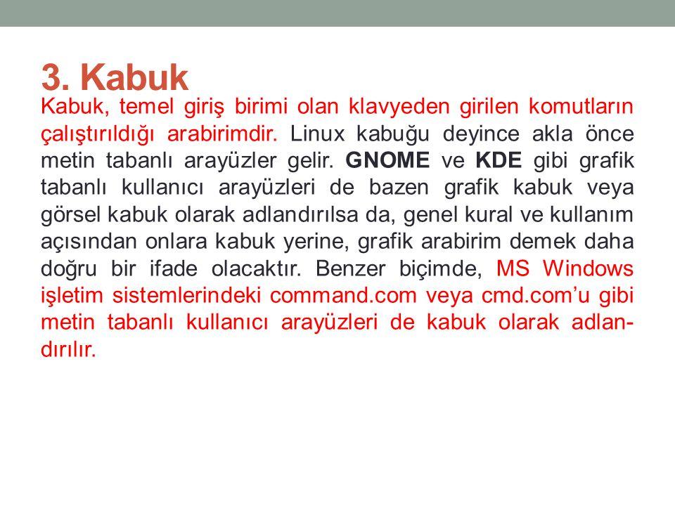 3. Kabuk