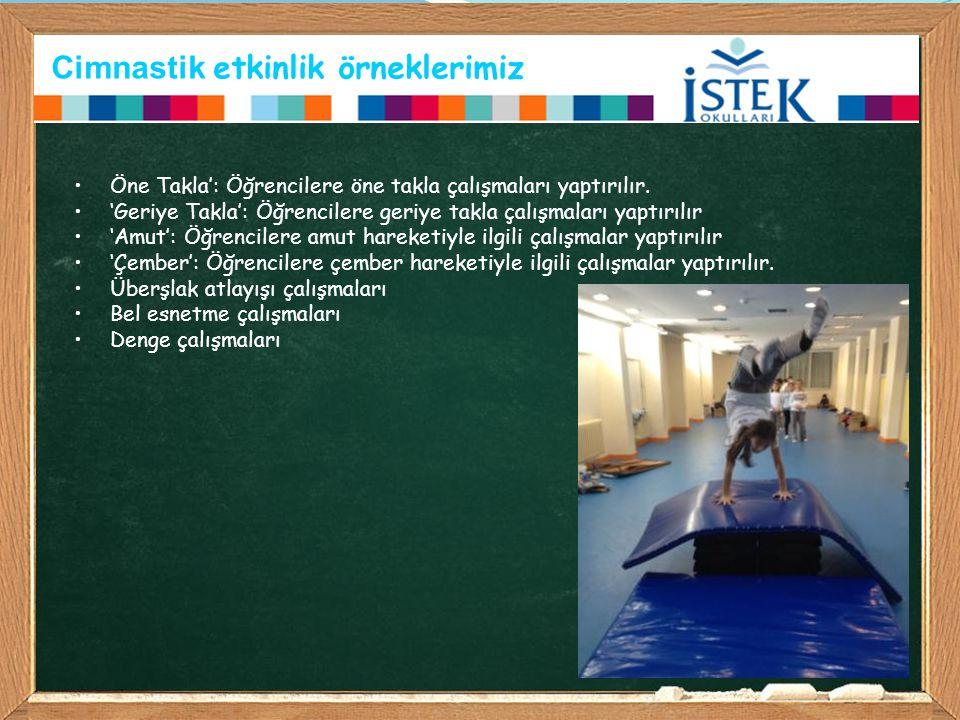Cimnastik etkinlik örneklerimiz