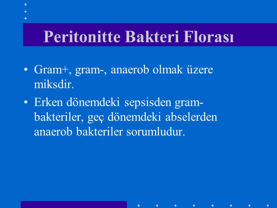 Peritonitte Bakteri Florası
