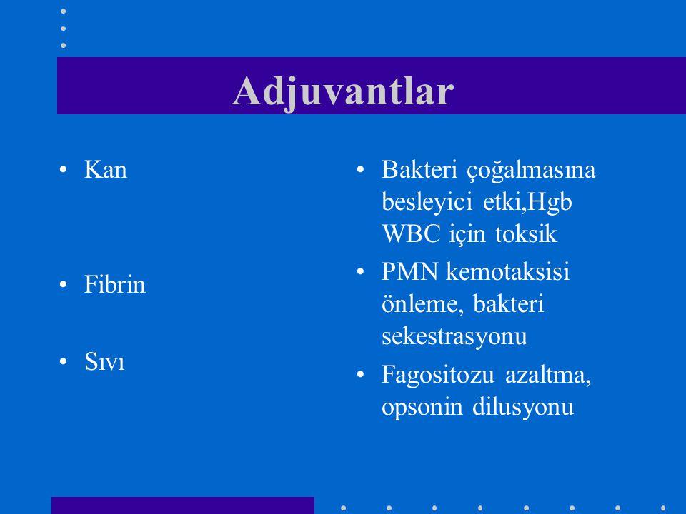 Adjuvantlar Kan Fibrin Sıvı