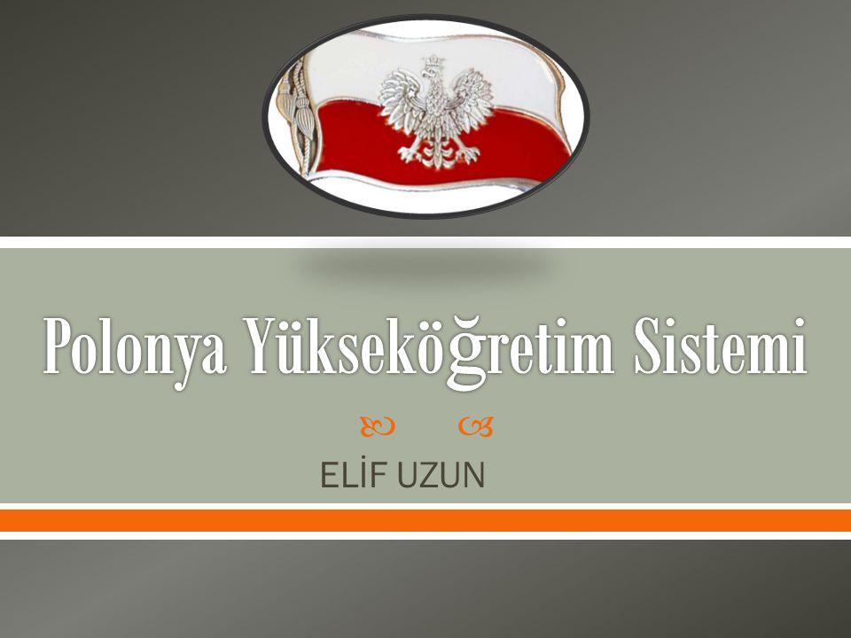 Polonya Yükseköğretim Sistemi