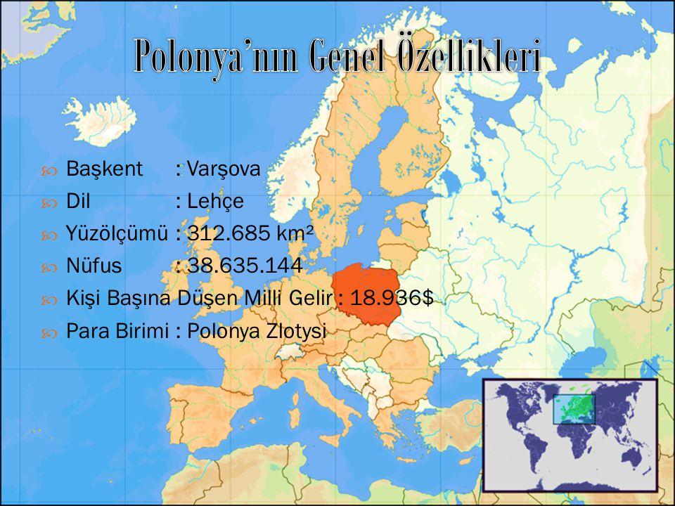 Polonya'nın Genel Özellikleri