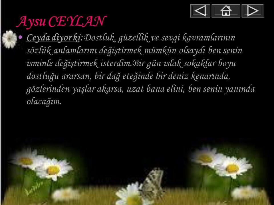 Aysu CEYLAN