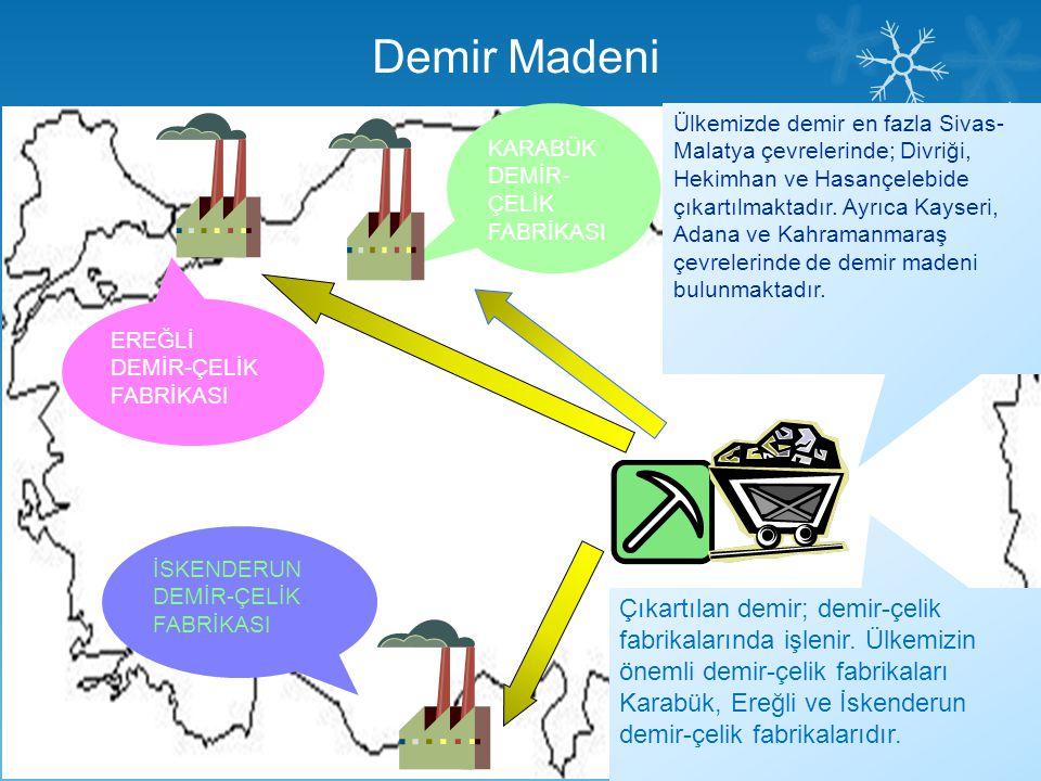 Demir Madeni KARABÜK. DEMİR-ÇELİK. FABRİKASI.