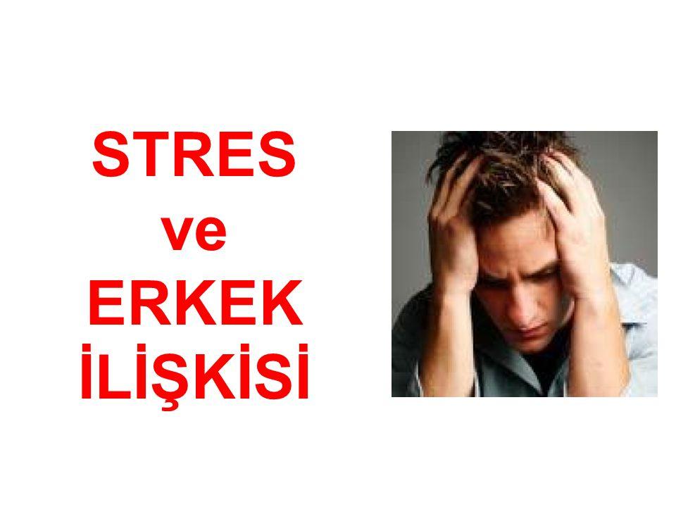 STRES ve ERKEK İLİŞKİSİ