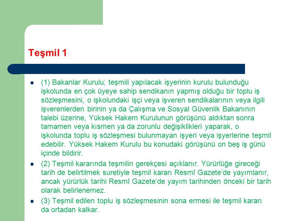 Teşmil 1