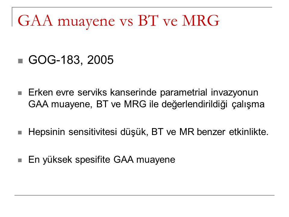 GAA muayene vs BT ve MRG GOG-183, 2005