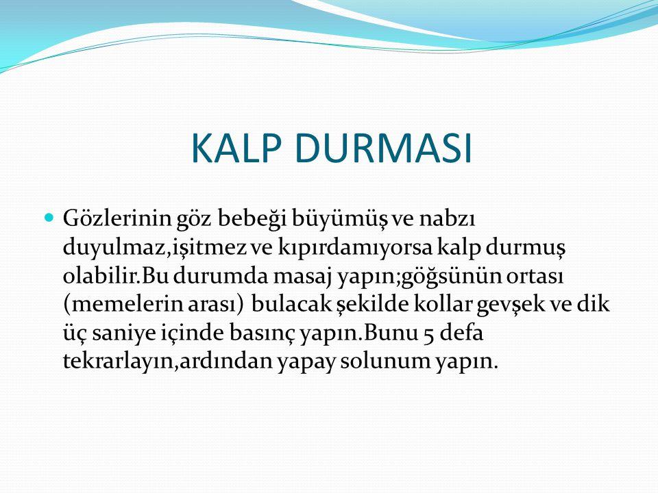 KALP DURMASI