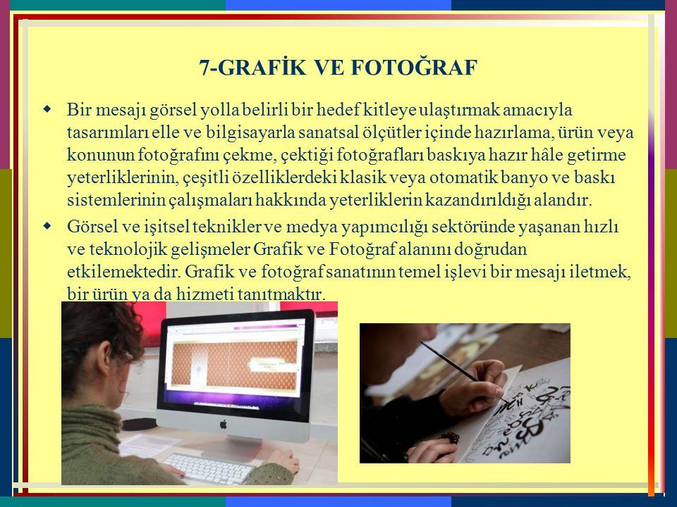7-GRAFİK VE FOTOĞRAF