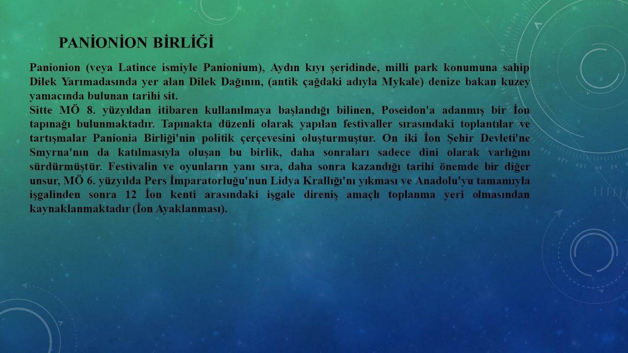 PANİONİON BİRLİĞİ