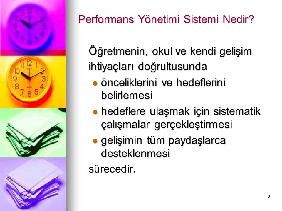 Performans Yönetimi Sistemi Nedir