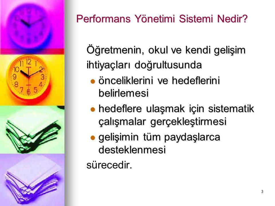 Performans Yönetimi Sistemi Nedir