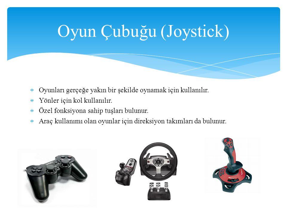 Oyun Çubuğu (Joystick)