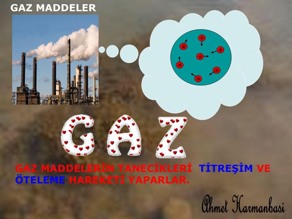Ahmet Harmanbasi GAZ MADDELER