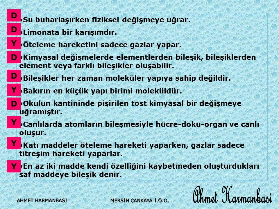 Ahmet Harmanbasi D D Y D D Y D Y Y Y