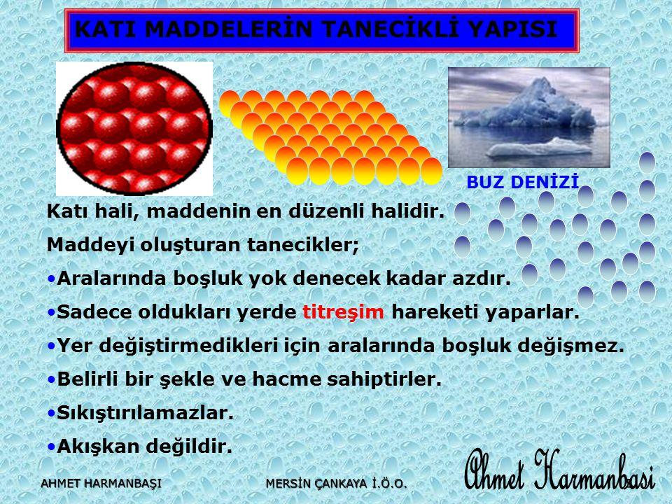 Ahmet Harmanbasi KATI MADDELERİN TANECİKLİ YAPISI